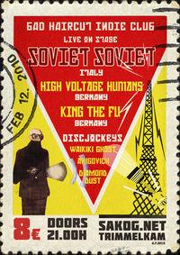 Bad Haircut / Soviet Soviet live@Kulturwerk Sakog