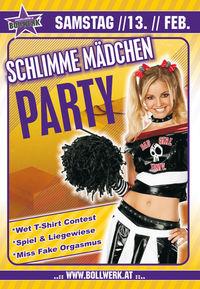 Schlimme Mädchen Party@Bollwerk