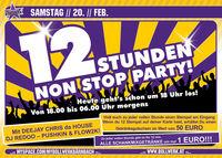 12 Stunden Non-Stop Party!@Bollwerk