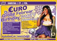 Februar Birthday Party@Bollwerk