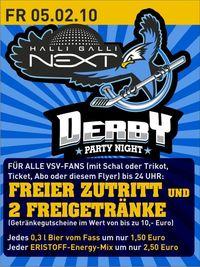 Derby Party@Halli Galli