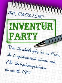 Inventur Party@Halli Galli