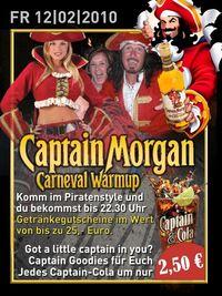 Captain Morgan@Halli Galli