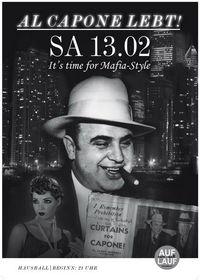 "Hausball ""Al Capone lebt!""@Auflauf"