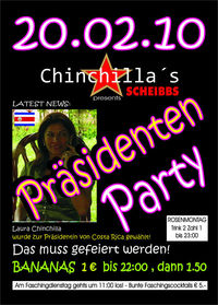 Chinchillas Präsidenten Party@Chinchillas Bar - Lounge
