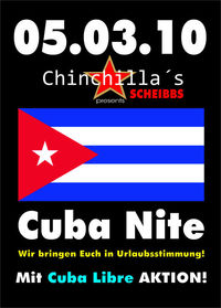 Cuba Nite@Chinchillas Bar - Lounge