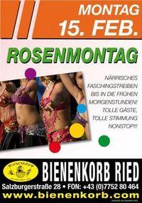 Rosenmontag@Bienenkorb Ried