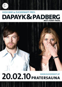 High Way & Zuckerwatt mit Dapayk & Padberg@Pratersauna