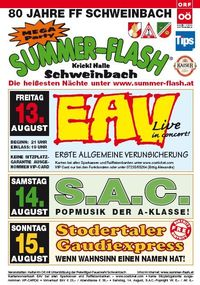 Summer-Flash@Krickl Halle
