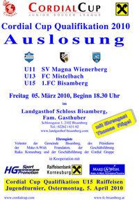 Cordial Cup Qualifikation 2010 Auslosung@Landgasthof Schloss Bisamberg