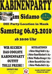 Kabinenparty im Sidamo!@Cafe Sidamo Mank