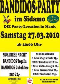 Bandidos-Party im Sidamo@Cafe Sidamo Mank