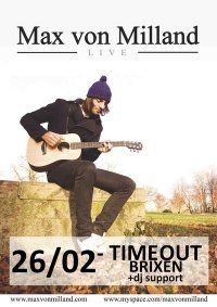 Max von Milland Live@Time Out