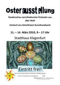 Ostereier - Ausstellung im Stadthaus Klagenfurt@Stadthaus Klagenfurt