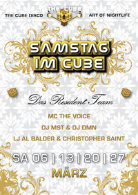 Samstag @ the Cube
