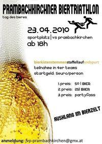 Prambachkirchner Biertriathlon@Sportplatz der Volksschule Prambachkirchen