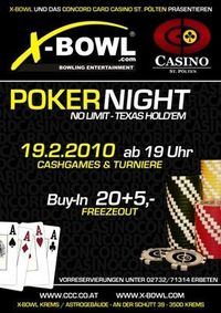 Xbowl Pokernight@XBowl Bowlingcenter