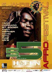 afro festivals vol 10@Hafen