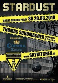 Stardust Closing Party feat. Thomas Schumacher