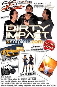 Dirty Impact Tour@Cabana