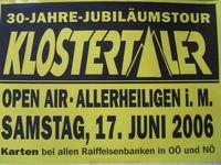 1. Open Air mit den Klostertalern@Allerheiligen i. M.