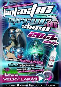Narodeninová Fantasic Mirror Párty@Ibiza Disco Club