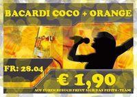 Bacardi Coco + Orange@Bar Pepito
