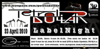 PetrolDollar Label Night@Postgarage