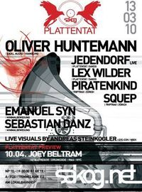 Plattentat mit Oliver Huntemann@Kulturwerk Sakog