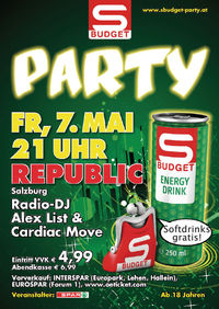 S-Budget Party@Republic-Cafe