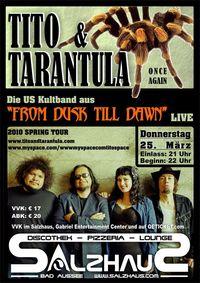 Tito & Tarantula Live@Salzhaus