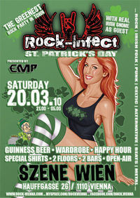 Rock-Infect: St. Patricks Day@((szene)) Wien