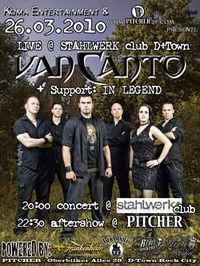 Van Canto support by: In Legend @Stahlwerk