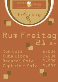 Rum Freitag@Bierpub Krügerl