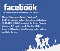 Facebookparty - Es geht weiter