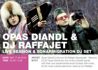 Opas Diandl Live & DJ Raffajet, Sonarmigration Dj Set@Sketch Clublounge