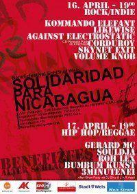 Solidaridad por Nicaragua@Alter Schl8hof Wels