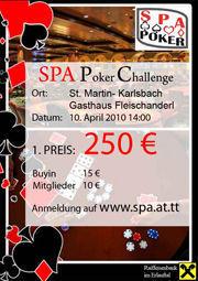 SPA-Pokerturnier@Gasthaus Fleischanderl