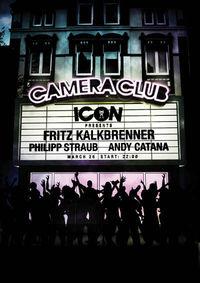Icon with Fritz Kalkbrenner  @Camera Club