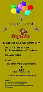 DogDisco Geburtstagsparty@Loop