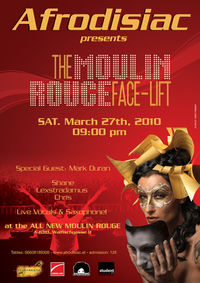 Afrodisiac Presents: The Moulin Rouge Face-lift@Moulin Rouge