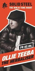 The Ninja Tune Night: Ollie Teeba@Icon Berlin