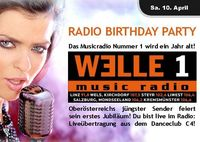 Die Welle 1 Radio Birthday Party