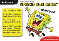 Crazy Sponge Bob night!