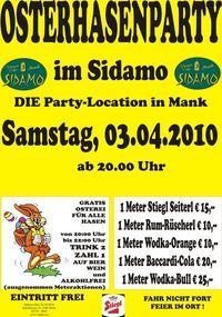 Osterhasenparty im Sidamo@Cafe Sidamo Mank