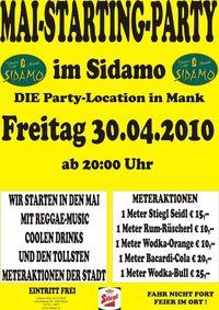 Mai-Starting-Party im Sidamo@Cafe Sidamo Mank