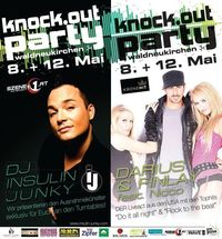 Knock Out Party pres. Nicco the voice of Darius & Finlay@Karosserie Eder