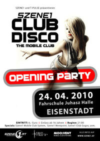 Szene1 CLUBDISCO - Opening Party@Fahrschule Juhasz Halle