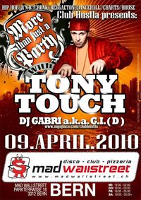 Toni Touch live on stage