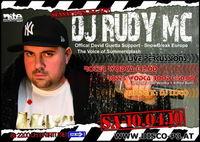 DJ Rudy MC live@Disco P3